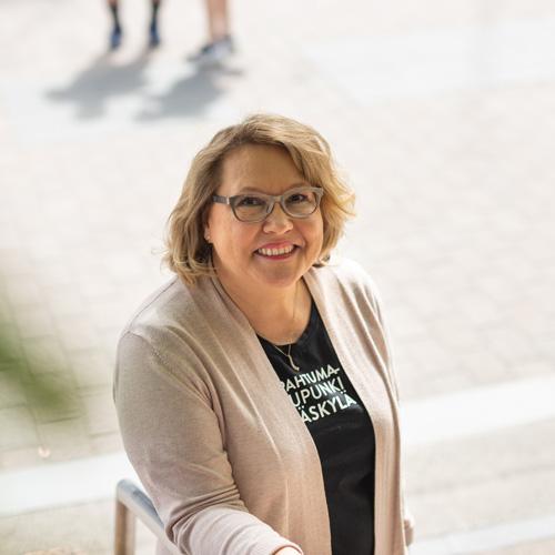 Marketing Manager Jaana Ruponen