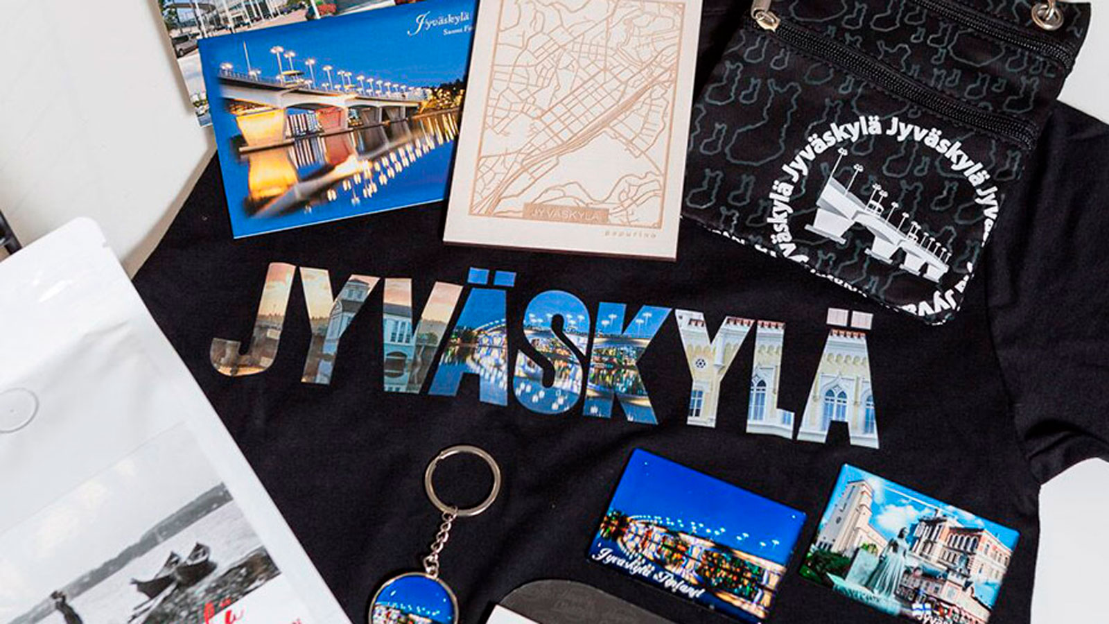 Jyväskylä themed products.