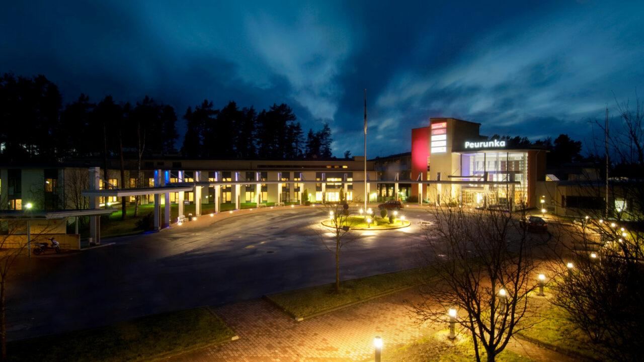 Hotel Peurunka's building.