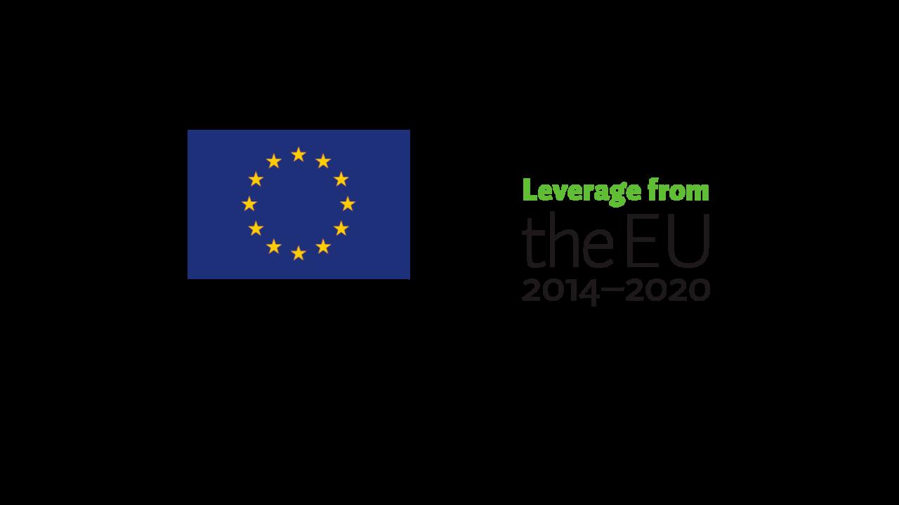 Euroopan aluekehitysrahasto & Vipuvoimaa EU:sta logot