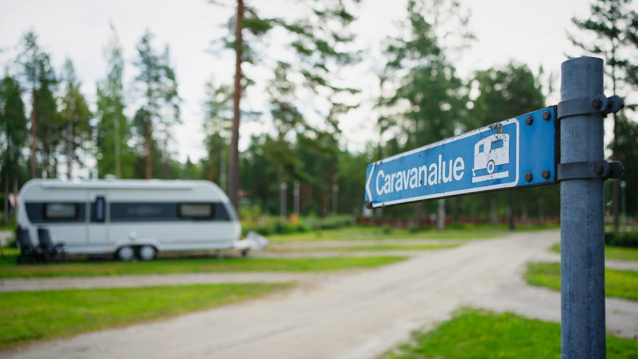 Sinervä Camping at Multia.