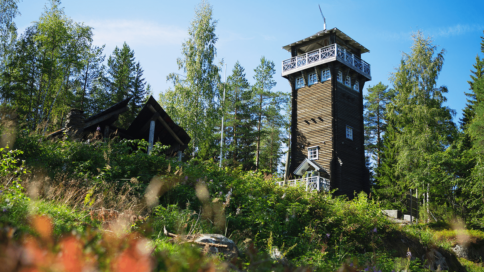 Kirkkovuoren näkötorni Karstulassa