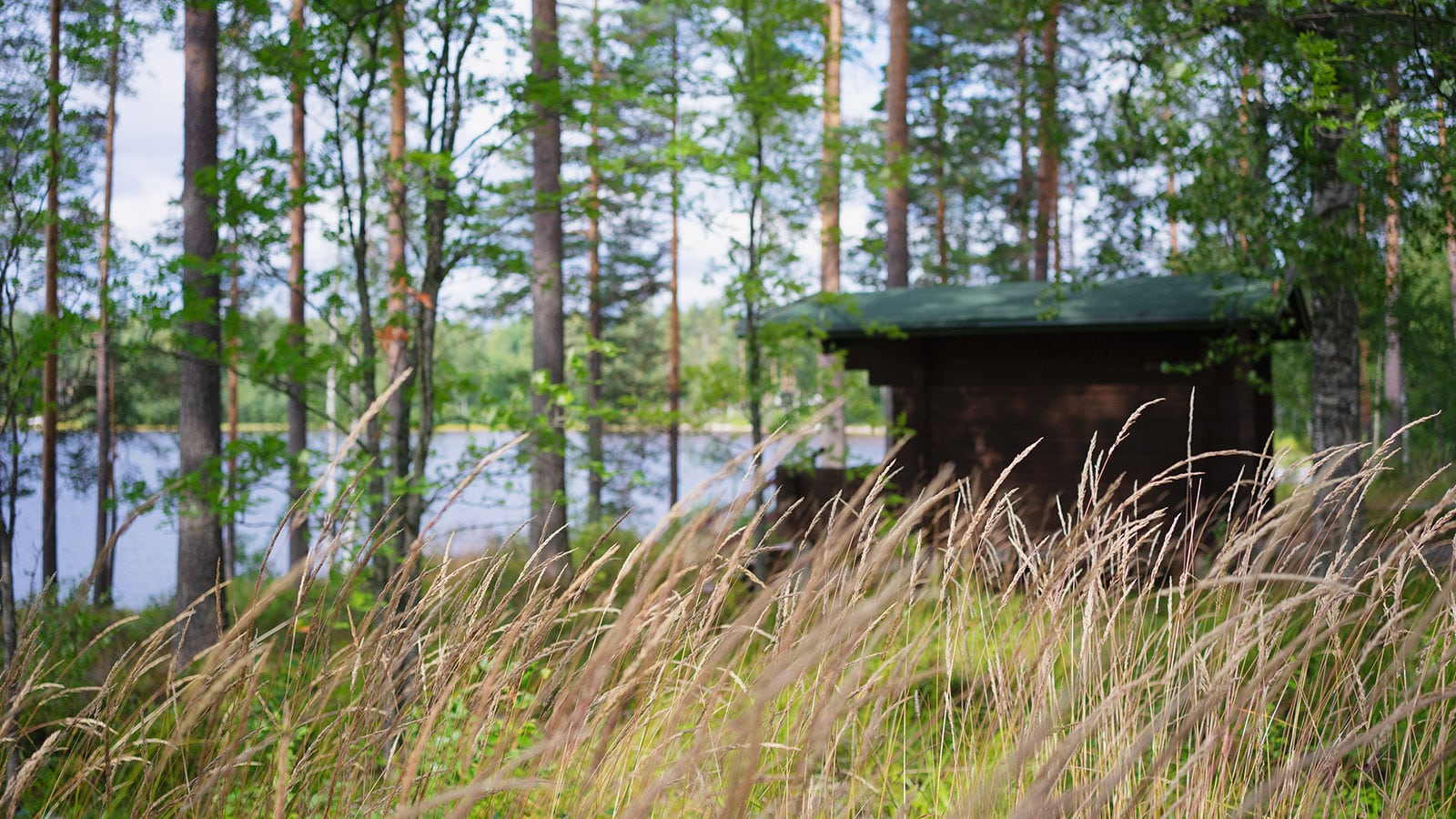 Beach cabin at Camping Sinervä in Multia