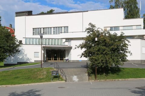 Keski-Suomen Museon rakennus Jyväskylässä