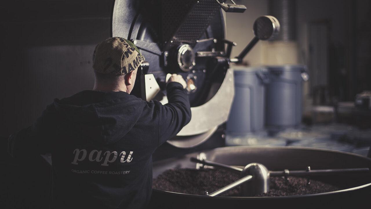 Paahtimo Papu organic coffee roastery
