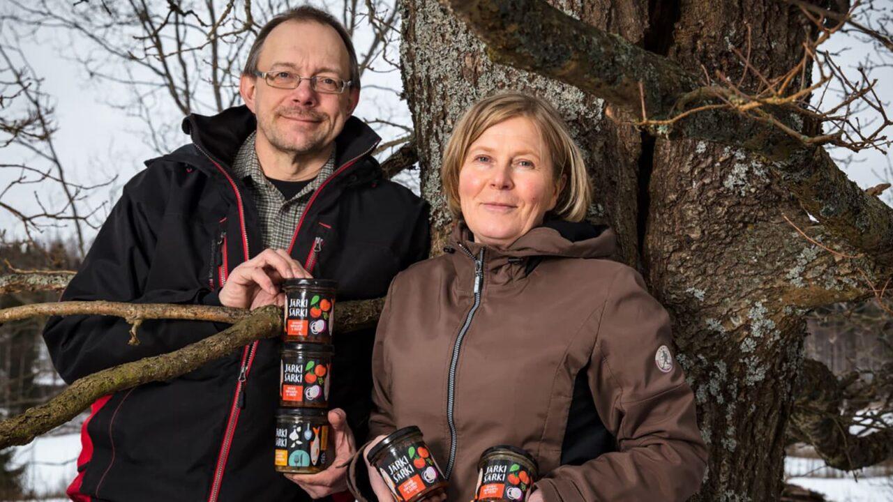 Marja Komppa ja Ari Seppälä