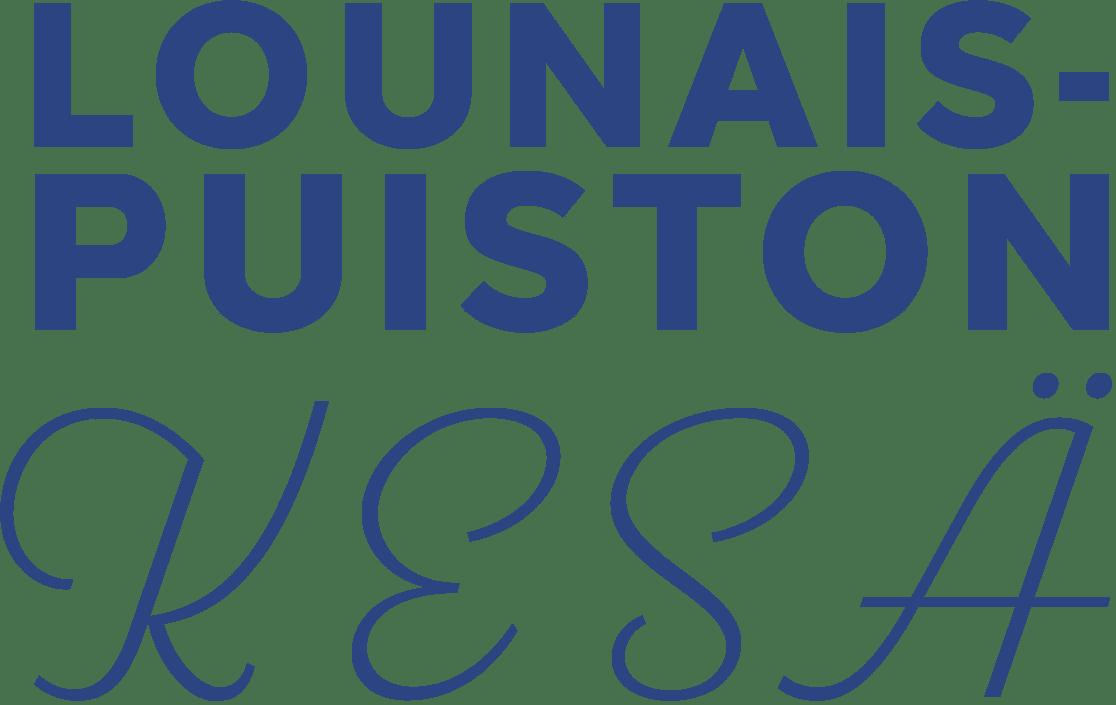 Lounaispuiston kesän logo 2021