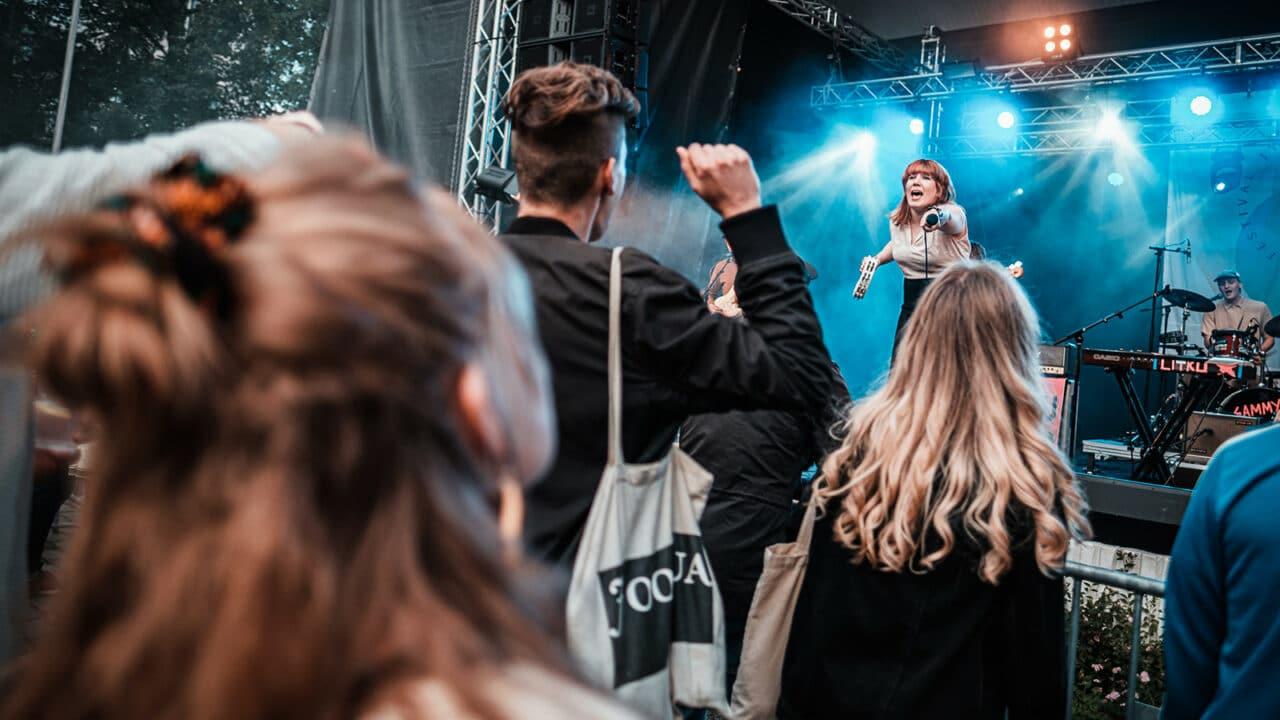 A performance in Jyväskylän Kesä