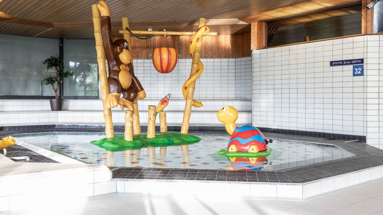 Lasten kahluuallas Scandic Laajavuoren kylpylässä