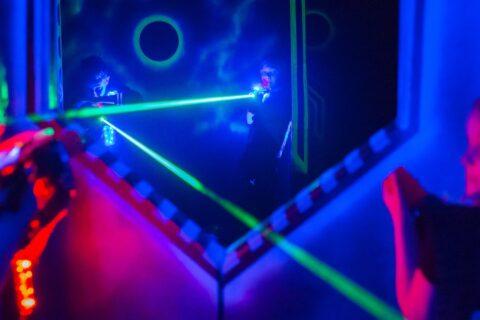 Lasertaistelu Megazonessa