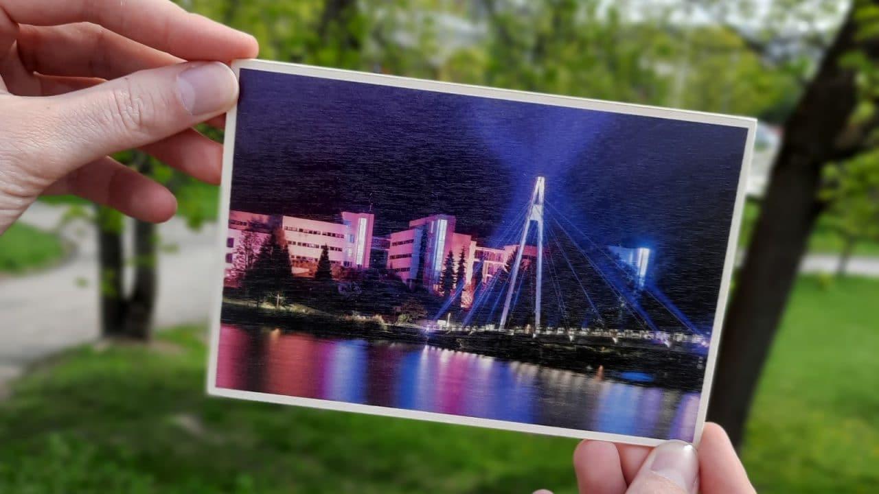 Kortti, jossa Ylistön silta.