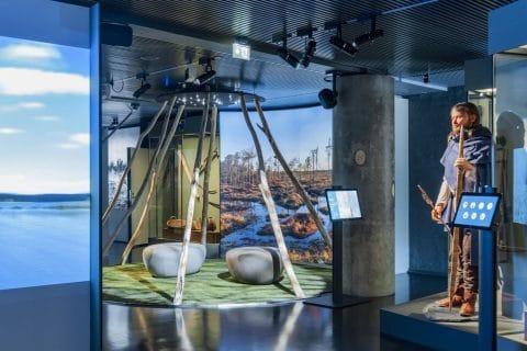 Tunnelmia Keski-Suomen museon perusnäyttelystä